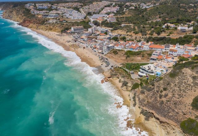 Salema aerial view, luxury, unspoilt location, villas, vacations, villas, townhouses