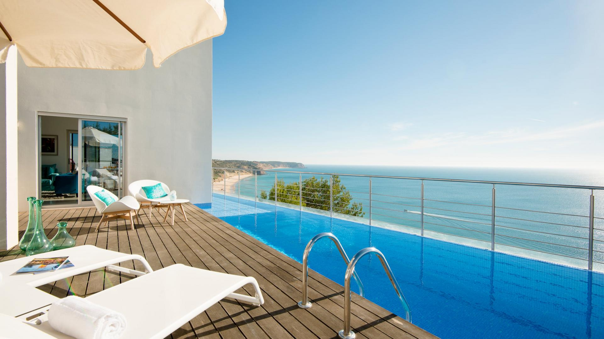 Villa Mar Azul - Plunge pool view 1